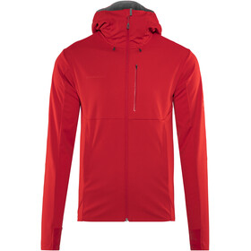 Mammut Ultimate V SO Hooded Jacket Men magma-titanium melange